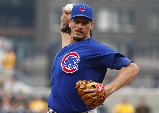 A's acquire Jeff Samardzija and Jason Hammel from Cubs