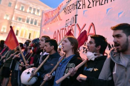 Greek parliament approves controversial pension, tax reforms
