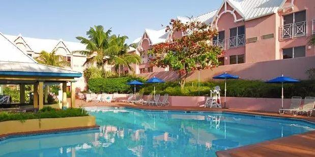 "Breakfast-included 3-night-stay at the Comfort Suites Paradise Island. Travel dates: March through May. <a href=""https://www.cheapcaribbean.com/resorts/Bahamas-Paradise-Island/Comfort-Suites-Paradise-Island/2364.html?searchParameters.bookingType=P&priceAndBook.packageId=7856&icid=mm_dl_dl_2&placementId=SaleLP_Deals_List_3&searchParameters.basicEconomySuppressed=true"" target=""_blank"">Visit the deal</a>."