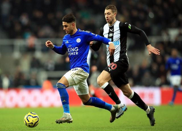 Ayoze Perez opened the scoring for Leicester