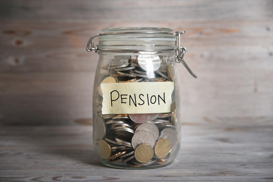 56 per cent of Canadians surveyed said they don't have a workplace pension plan (Getty)