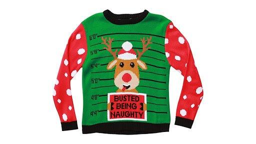 These ugly sweaters broke the mold.
