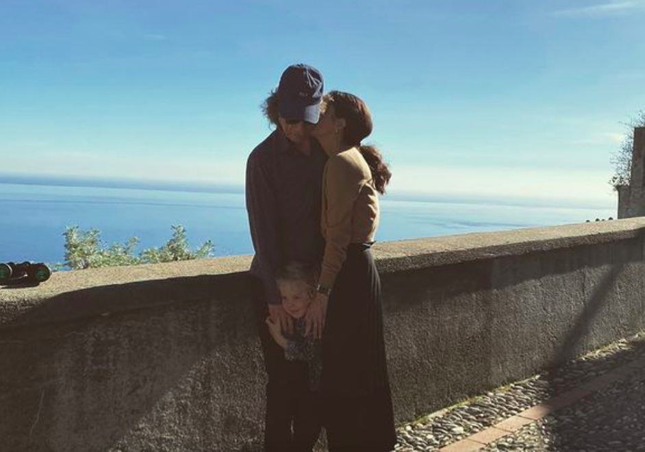 Mick Jagger's girlfriend, Melanie Hamrick, is giving fans a rare glimpse into her relationship with the rocker. (Photo via @melhamrick Instagram)