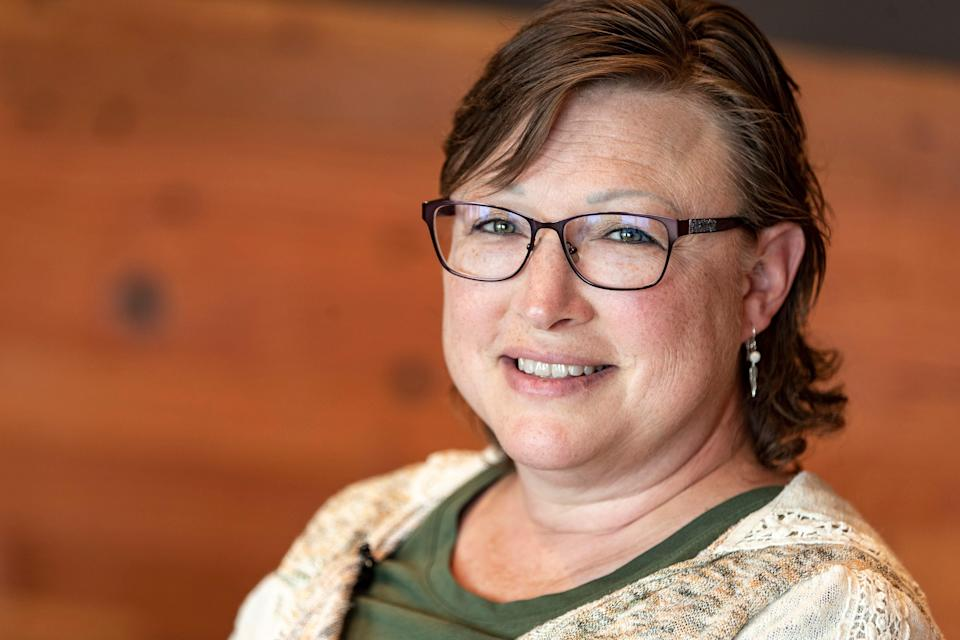 """Dr. Joy Froelich is the director at the Good Road Recovery Center in Bismarck, North Dakota. """"What really makes our treatment center unique is we really focus on cultural immersion. We try to incorporate culture in many things we do for our clients,"""" Froelich said. """"We are trying to bring some identity to them, to find out who they are and where to go from here."""" June 22, 2021"""
