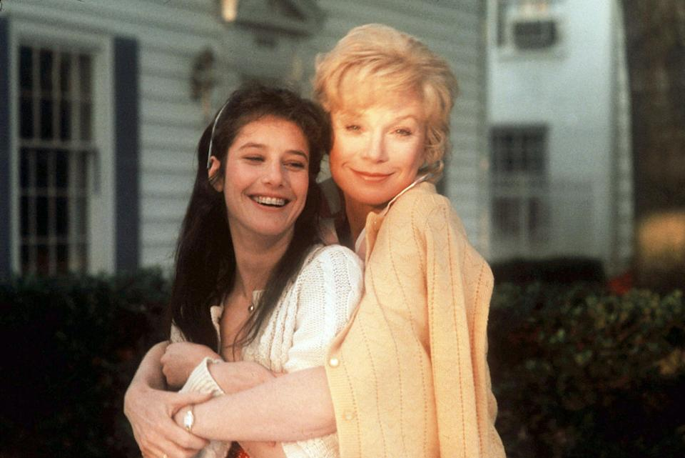 "<p><strong><em>Terms of Endearment</em></strong>(1983)</p><p>Aurora Greenway (Shirley MacLaine) could have predicted that her daughter Emma's (Debra Winger) marriage to Flap Horton (Jeff Daniels) was not going to work out, but Emma chose with her heart. Emma and Aurora have a deep bond, one that buoys them through Emma's unhappy marriage and Aurora's reluctant relationship with the astronaut who lives next door.</p><p><strong>Why You Should Watch It:</strong> The Oscar-winning movie is considered one of the best <a href=""https://www.refinery29.com/2015/01/80684/best-sad-movies"" rel=""nofollow noopener"" target=""_blank"" data-ylk=""slk:(and most heart-breaking)"" class=""link rapid-noclick-resp"">(and most heart-breaking)</a> movies about mother-daughter relationships.</p><span class=""copyright"">Zade Rosenthal/Paramount/Kobal/REX/Shutterstock</span>"