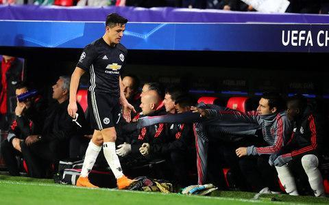 According to Jose Mourinho Alexis Sánchez chose to join Manchester United mid-season due to his burning desire to play in Europe's elite competition rather than its poorer cousin the Europa League, but in his first continental trip with his new side the former Arsenal man was left with a familiar feeling to those many disappointing European nights he had experienced with his former club. Granted, this was not quite like the lows of the heavy defeats by Monaco, Barcelona and Bayern Munich he had experienced in his three last 16 first legs with Arsenal, and with the tie still somehow poised at 0-0 there is every chance United will still reach the quarter-finals. But as he trudged off the pitch with 15 minutes to go to make for Marcus Rashford and having contributed very little, it was definitely not the type of night he likely had in mind when he signed for United. He spent much of the night stranded out on the left wing as Sevilla did all the attacking, with little opportunities to find space behind the highly impressive Jesús Navas who has proved remarkably effective in a new role of right full back. Sánchez had to resort to tripping the former Manchester City man in the first half to stop him tearing away from him in midfield and the booking he received meant he trod carefully whenever the Spaniard was on the ball on his flank. Paul Pogba was on the receiving end of Alexis Sanchez's advice after wasting a promising position Credit: Chris Brunskill Ltd/Getty Images Sánchez was given rough treatment himself from Franco Vazquez and Steven Nzonzi in the middle and was ineffective for most of the first half, his best moment being his pass in to Lukaku in a rare United attack which ended with the Belgian smashing the ball into the stand. He had a little more freedom in the second half but was again brought to his knees before he could cause any damage. There was little scope for him to drag his side, which looked shy and unimaginative for most of the game, towards victory. Take the moment when he raced down the left wing and took four Sevilla players with him, quickly moving the ball to Lukaku, whose attempted pass was promptly cut out, thus ending a promising attack which Sanchez had engineered. He looked similarly disgusted when Paul Pogba, the player closest to him in terms of salary, skewed an opportunistic attempt from well outside the area wide of goal. Sanchez was brought off 15 minutes before the end Credit: Chris Brunskill Ltd/Getty Images Indeed, Sánchez would have felt far more at home in the side he was playing against. Sevilla have to reinvent themselves each summer when their players get itchy feet and move to more illustrious and richer sides but their thirst for slick, entertaining football remains constant. The Andalusians have had an up and down campaign but the club has a reputation for rising to the occasion on nights like this, their first competitive meeting with United and their fourth attempt to reach the Champions League quarter-finals for the first time. The Sánchez Pizjuán was rocking from start to finish as Sevilla's fans created the type of atmosphere Sánchez was used to when he was taking the first steps of his career with South American giants Colo Colo and River Plate. United were spectators for much of the game but remain in the tie due to the heroics of David de Gea, who added another jaw-dropping save to his considerable collection by keeping out Luis Muriel's shot towards the end of the first half. It is down to the Spaniard that Sánchez still has another chance to show he can shine in this competition, which he has never won and in which he still has plenty to prove. Moment that changed the match David de Gea had already made a remarkable save from Gabriel Mercado's overhead kick but the odds were stacked against him when the ball made its way towards powerful Colombian striker Luis Muiel, but the Spaniard stunned everyone in the Sánchez Pizjuán by keeping the shot out. Most influential player It is difficult to look past De Gea, whose display to rival his save-a-minute performance against Arsenal in November. If United can see out the second leg, they should give the Spaniard a bumper new contract for keeping them in the tie. Crowd rating 9/10 - From the acapella rendition of their catchy anthem before kick off to the permanent noise and bouncing of the home fans, the Sánchez Pizjuán lived up to its reputation as one of the most atmospheric stadiums in Europe. Referee rating 6/10 - Frenchman Clément Turpin angered the ever-noisy home fans whenever he gave a foul against Sevilla but on the whole he kept the game flowing and did not have to make any big decisions, booking only Sánchez and Nzonzi. Match rating 7/10 - This was a far more entertaining spectacle than the scoreline might imply, with Sevilla crafting most of the attacking play but leaving themselves exposed enough for United to hit them on the break.