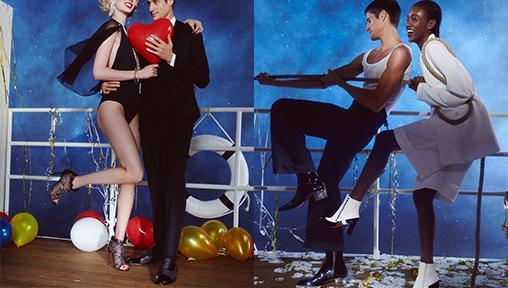 Christian Louboutin Presents a Cheeky Black Tie Collection this Season
