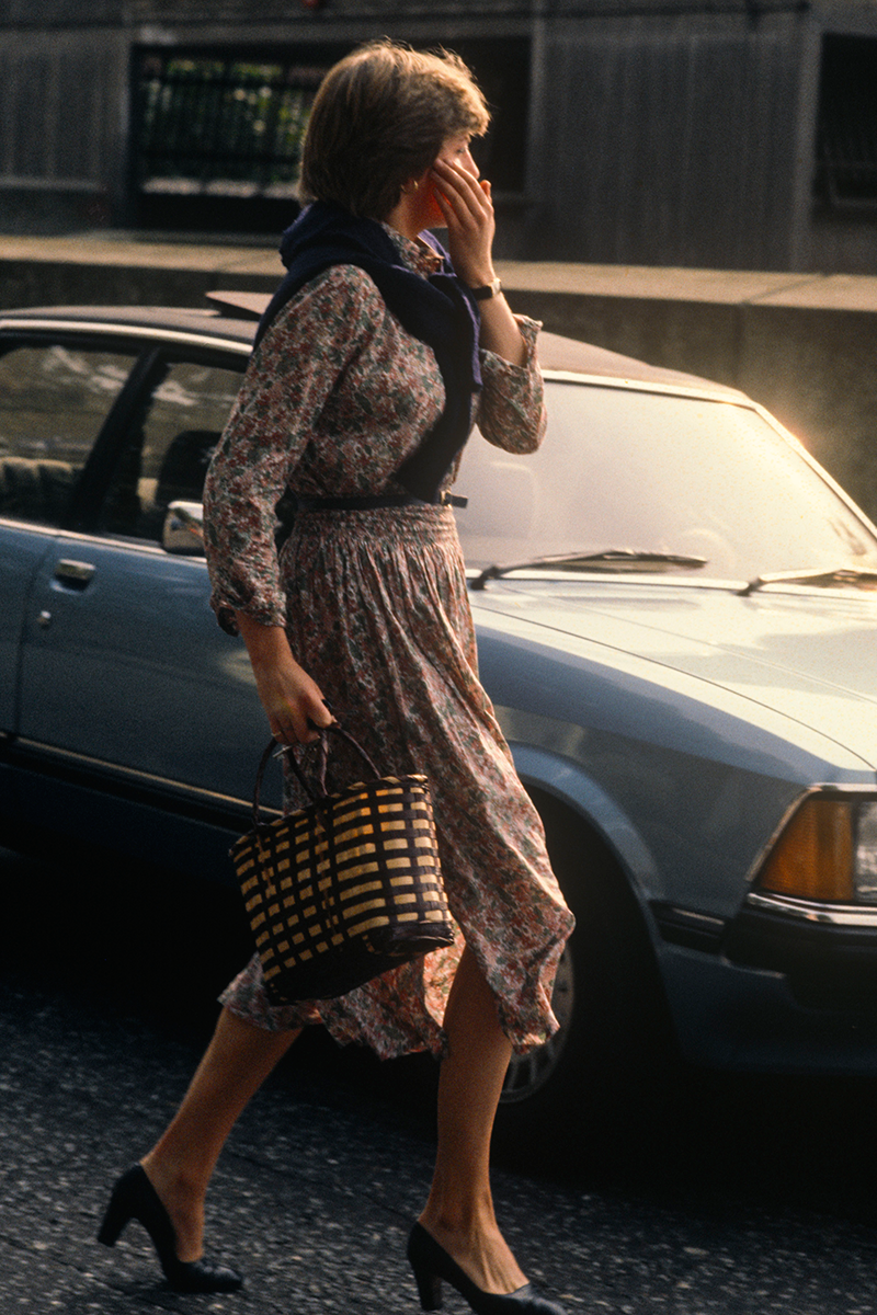 <p>Can anyone else imagine Diana as Miss Honey from Matilda in this midi dress, as she arrives for work at the Young England School kindergarten? The only thing missing is the iconic glasses, which would subsequently be pushed down her nose in astonishment.</p>