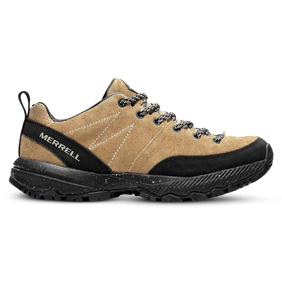 """<p><strong>Merrell</strong></p><p>merrell.com</p><p><strong>$120.00</strong></p><p><a href=""""https://go.redirectingat.com?id=74968X1596630&url=https%3A%2F%2Fwww.merrell.com%2FUS%2Fen%2Fmqm-ace-leather%2F48701M.html%3Fdwvar_48701M_color%3DJ036393%23cgid%3D1TRL%26start%3D1&sref=https%3A%2F%2Fwww.esquire.com%2Fstyle%2Fmens-fashion%2Fg36147610%2Fbest-new-menswear-april-16-2021%2F"""" rel=""""nofollow noopener"""" target=""""_blank"""" data-ylk=""""slk:Shop Now"""" class=""""link rapid-noclick-resp"""">Shop Now</a></p><p>Very good-looking hiking shoes that also happen to perform. Best of both worlds. </p>"""