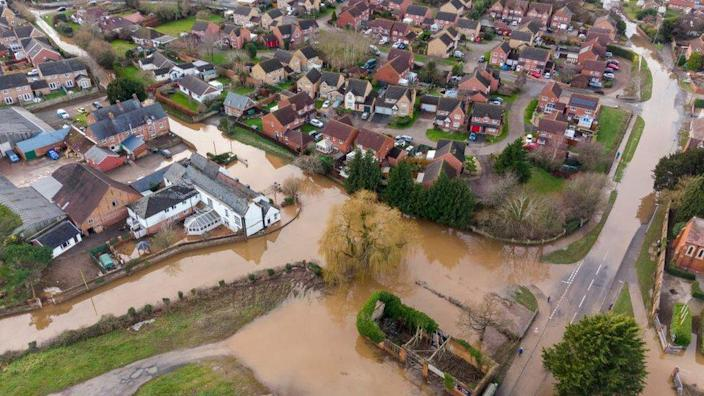 Flooding in Hereford