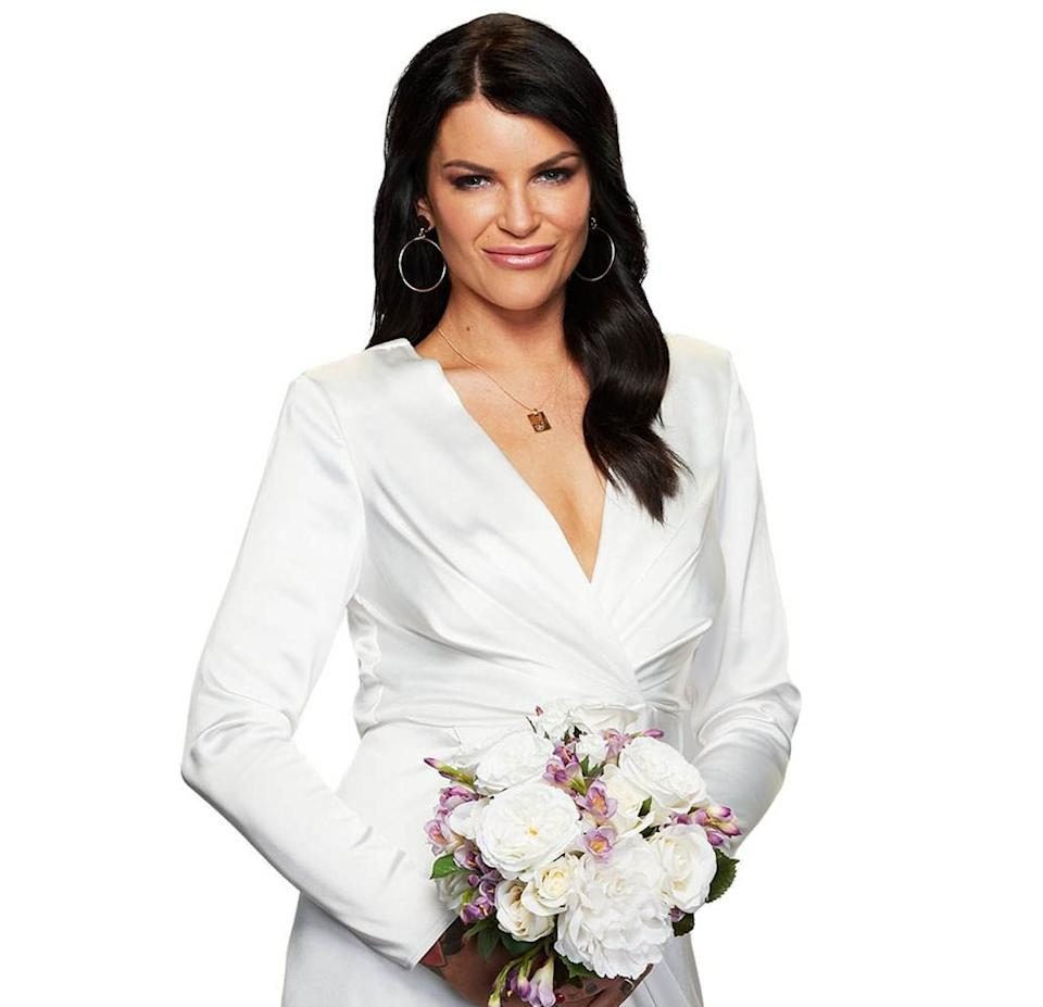 Tash is probably best known for the dark hair she sported while on MAFS. Photo: Nine