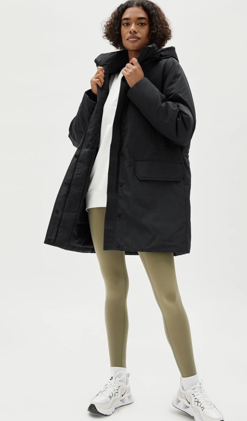 The Re:Down Military Parka - Everlane, $229 (originally $287)