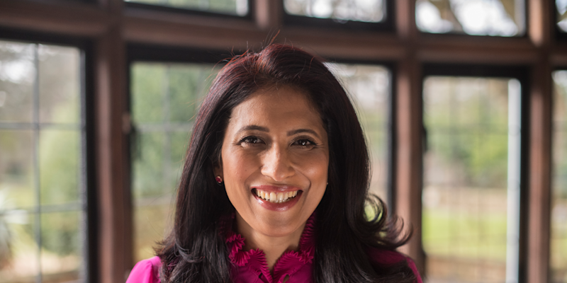 19) Leena Nair, chief HR officer, Unilever. Photo: Unilever