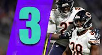 <p>Good teams can't keep top assistants forever. Still, it would be a huge blow for the Bears to lose defensive coordinator Vic Fangio to a head-coaching job. (Sherrick McManis, Adrian Amos) </p>