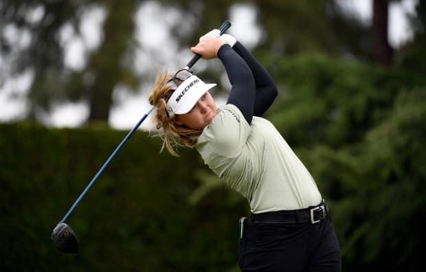 Canada's Brooke Henderson closed with a 4-under 67 to to seal her victory at the LA Open on Saturday. (Kevork Djansezian/Getty Images - image credit)