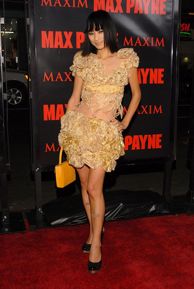 """<a href=""""http://movies.yahoo.com/movie/contributor/1800019960"""">Bai Ling</a> at the Los Angeles premiere of <a href=""""http://movies.yahoo.com/movie/1810007086/info"""">Max Payne</a> - 10/13/2008"""
