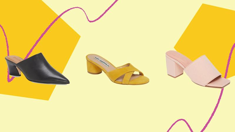 On Sale Slides And Marked Down Mules To Get At Nordstrom (Nordstrom)