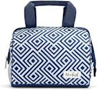 <p>The <span>Fit + Fresh Charlotte Insulated Soft Liner Lunch Bag</span> ($15) is trendy and lightweight and comes in a variety of chic prints and patterns. It has three layers of insulation, it's leakproof, and even waterproof.</p>