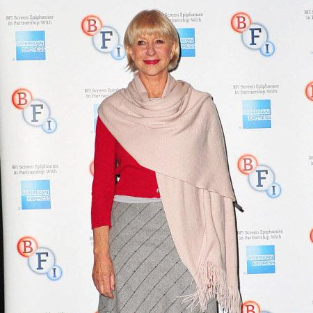 Helen Mirren: I enjoy nudity