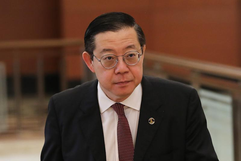 Finance Minister Lim Guan Eng predicted that the national debt can go down to 65 per cent of GDP at the end of Pakatan Harapan's (PH) term in 2023. — File picture by Yusof Mat Isa