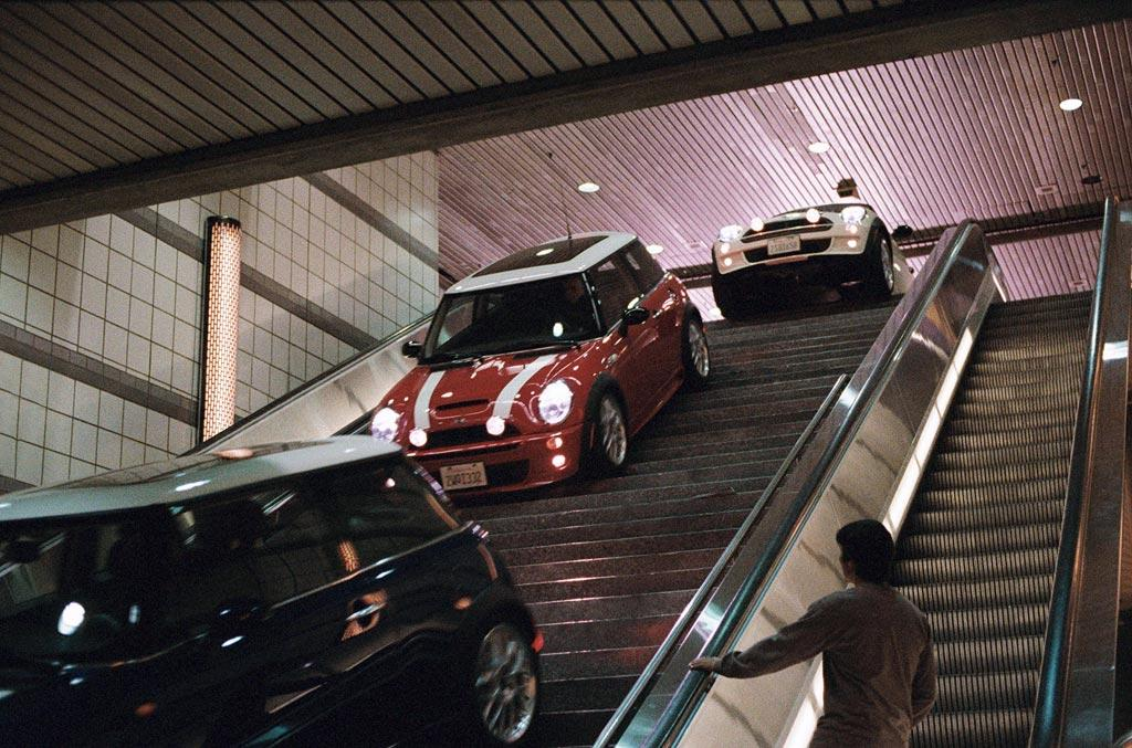 """2002 MINI COOPER S  As Seen In: <a href=""""http://movies.yahoo.com/movie/1808465610/info"""">The Italian Job</a>  Update of: Austin Mini Cooper S Mark I seen in 1969's <a href=""""http://movies.yahoo.com/movie/1800172068/info"""">The Italian Job</a>  Key Technical Specs: 1.6L 4-cylinder; ample trunk space for stolen gold.   The Mini Cooper has long been the preferred car for bands of thieves both on the Continent and here in the States. Whether you're winding your way through the streets of Turin or the subway tunnels of Los Angeles (not recommended), you won't find a groovier ride that the MINI.   Available Options: Buy in bulk for your (funky) bunch of crooks."""