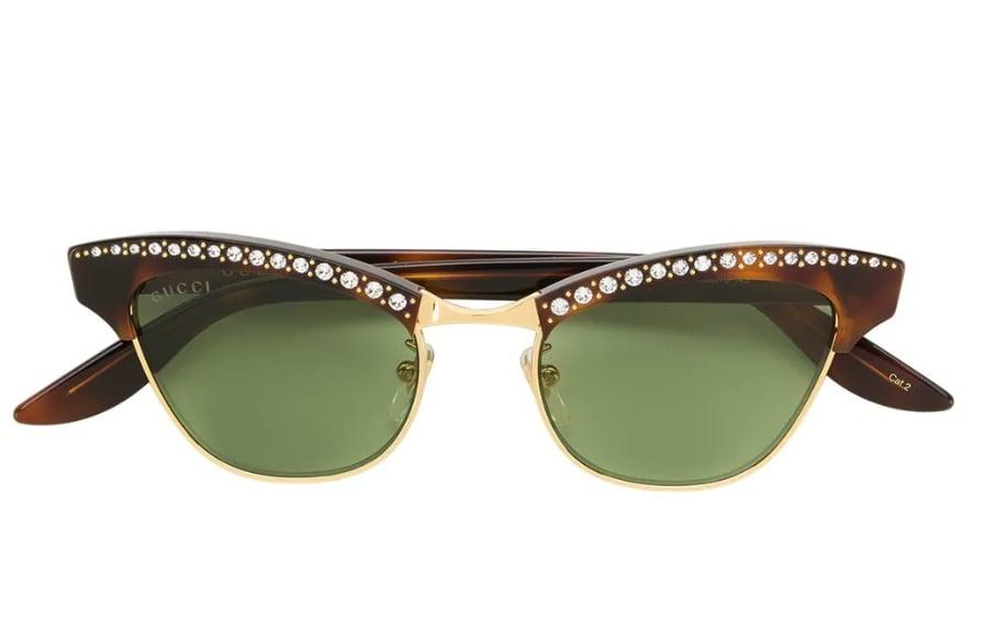 "<p>Sure, they may already have sunglasses, but not a pair this extra. These <a rel=""nofollow"" href=""https://www.popsugar.com/buy/Gucci%20Brown%20optyl%20metal%20sunglasses-395569?p_name=Gucci%20Brown%20optyl%20metal%20sunglasses&retailer=farfetch.com&price=420&evar1=fab%3Aus&evar9=32546198&evar98=https%3A%2F%2Fwww.popsugar.com%2Ffashion%2Fphoto-gallery%2F32546198%2Fimage%2F44265467%2FGucci-brown-optyl-metal-sunglasses&list1=shopping%2Cluxury%20fashion&prop13=desktop&pdata=1"" rel=""nofollow"">Gucci Brown optyl metal sunglasses</a> ($420) will make every outfit that much more luxe. 	</p>"