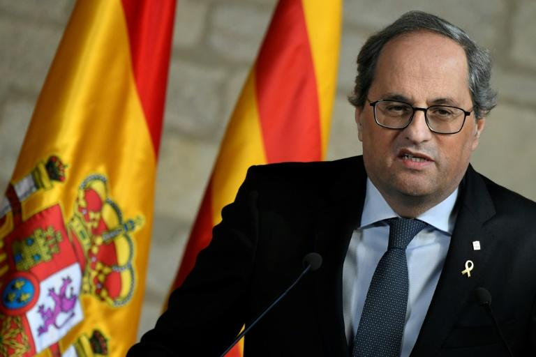 Top Spain court upholds Catalan president's disqualification