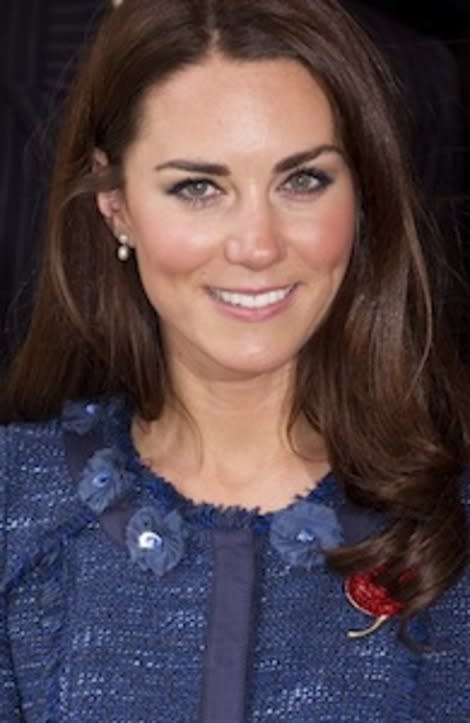 Kate's pearly whites
