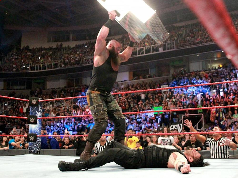 Braun Strowman defeated Roman Reigns at WWE Payback: WWE