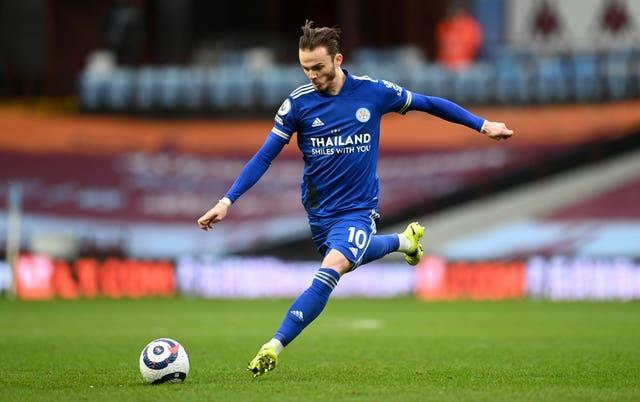 James Maddison has been linked with Arsenal (Michael Regan/PA).