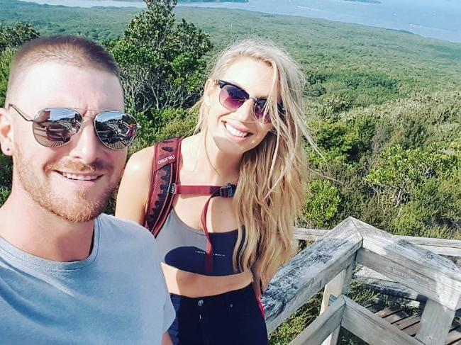 Nick enjoyed a months-long relationship with his MAFS wife Sharon Marsh. Photo: Instagram
