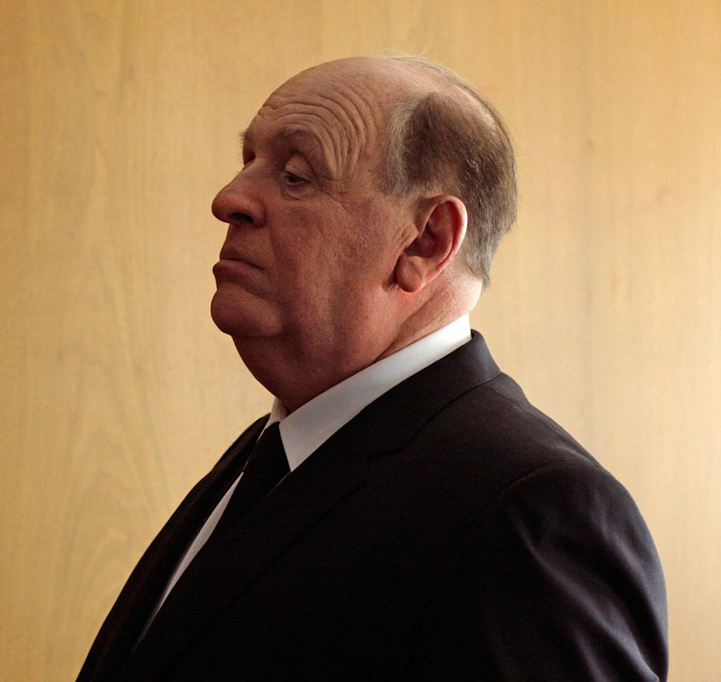 "Anthony Hopkins as Alfred Hitchcock in Fox Searchlight's ""Hitchcock"" - 2012"