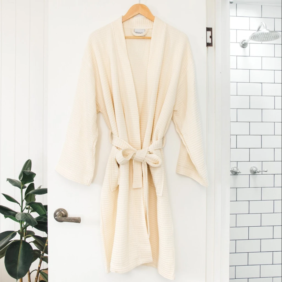 """<h3><a href=""""https://www.ettitude.com/products/waffle-bathrobe"""" rel=""""nofollow noopener"""" target=""""_blank"""" data-ylk=""""slk:ettitude Bamboo Lyocell Waffle Bathrobe"""" class=""""link rapid-noclick-resp"""">ettitude Bamboo Lyocell Waffle Bathrobe</a></h3><br>This unisex robe, crafted from super-soft and all-natural bamboo lyocell materials, is as cozy as it is absorbent — aka the perfect post-shower luxe loungewear that one reviewer claims is, """"So soft. So comfortable. Absorbs quickly. I wear this all night. The material is just amazing. If pajamas are made in this material, you bet I will be stocking up on them.""""<br><br><br><br><strong>Ettitude</strong> Bamboo Lyocell Waffle Bathrobe, $, available at <a href=""""https://go.skimresources.com/?id=30283X879131&url=https%3A%2F%2Fwww.ettitude.com%2Fproducts%2Fwaffle-bathrobe"""" rel=""""nofollow noopener"""" target=""""_blank"""" data-ylk=""""slk:Ettitude"""" class=""""link rapid-noclick-resp"""">Ettitude</a>"""
