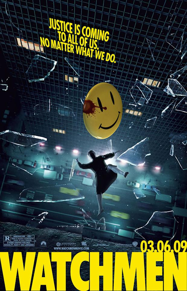 """The teaser poster for Warner Bros. Pictures' <a href=""""http://movies.yahoo.com/movie/1808406490/info"""">Watchmen</a> - 2009"""