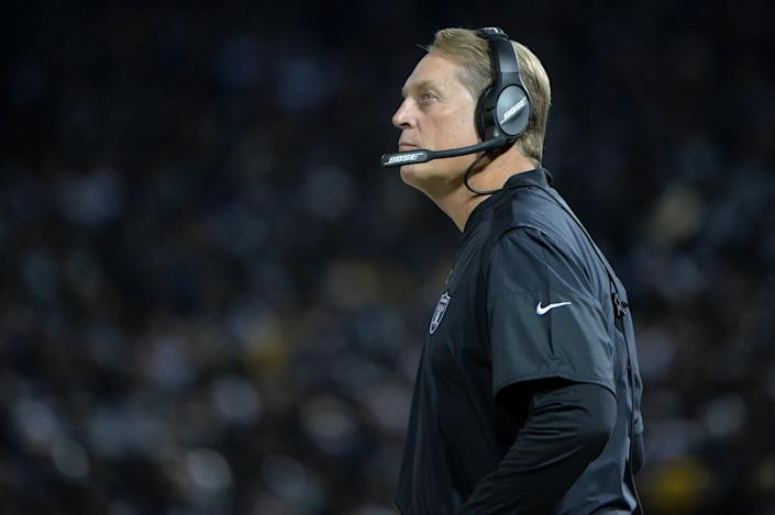 If Washington coach Ron Rivera ever can't lead the team during his cancer battle, defensive coordinator Jack Del Rio will step in and take his place. (Don Feria/Getty Images)