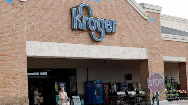 PHOTO: A customer exits a Kroger grocery store in Flowood, Miss., June 26, 2019. (Rogelio V. Solis/AP, FILE)