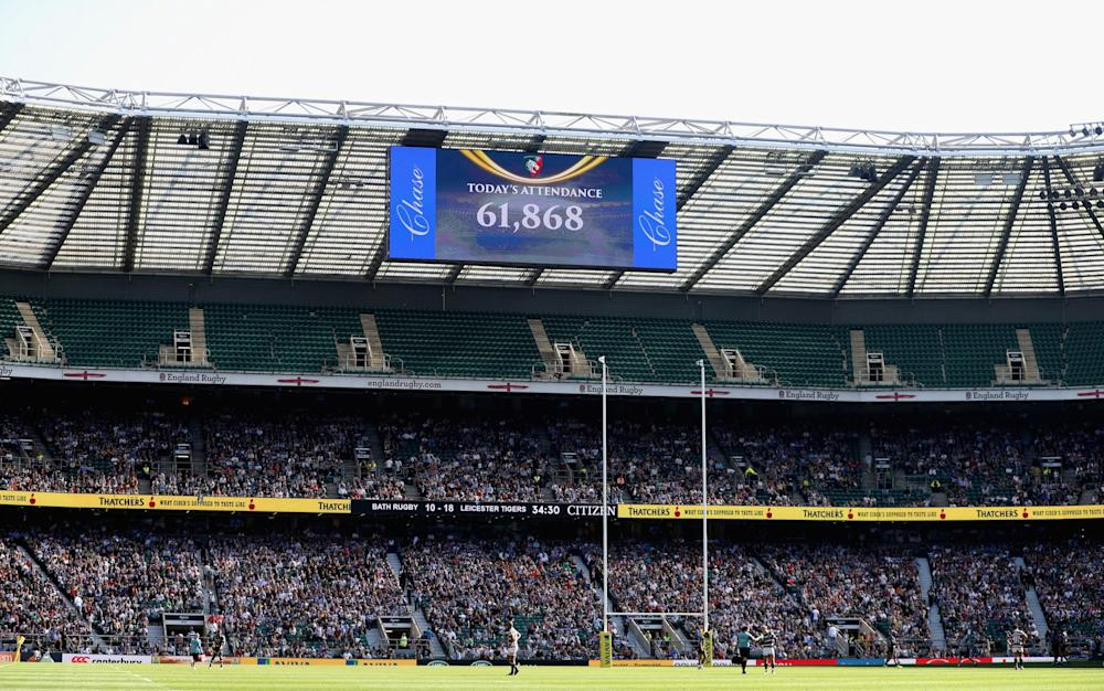 Twickenham - Credit: GETTY IMAGES