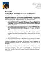 Filo Mining Reports 425m at 1.55% CuEq, including 4m at 5,045 g/t Silver at Filo del Sol; Extends the deposit another 750m to the North (CNW Group/Filo Mining Corp.)