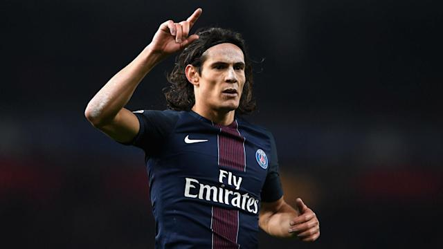 Edinson Cavani took his Ligue 1 goal tally for the season to 29 with a brace in a 4-0 win over Guingamp at Parc des Princes.