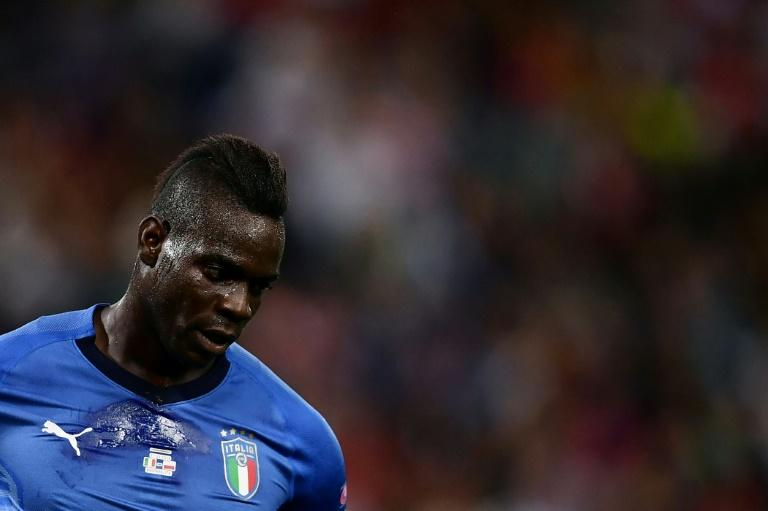 """His form is not extraordinary,"" the Italy coach said of forward Mario Balotelli"