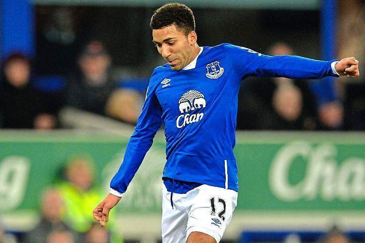 Under stress: Everton's Aaron Lennon was detained under the Mental Health Act