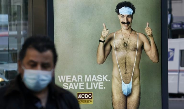 """A viral marketing campaign is well underway for """"Borat Subsequent Moviefilm"""""""