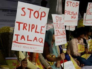 Kerala woman protests outside husband's house for giving triple talaq; police registers case against man