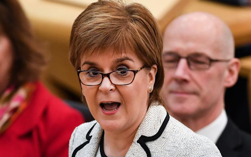 Nicola Sturgeon wants to 'let the dust settle' before announcing indyref2 plans - 2018 Getty Images