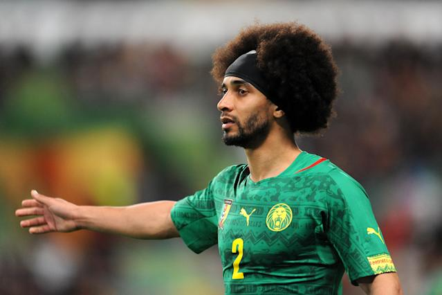 Benoit Assou-Ekotto for Cameroon (Credit: Getty Images)