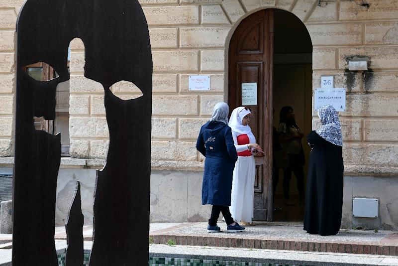 The inflow of migrants was once seen as a solution to the slow decline of inhabitants in Riace and the surrounding area (AFP Photo/Alberto PIZZOLI)