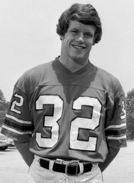 FILE - In this July 1975 file photo, Atlanta Falcons safety Ray Easterling poses for a photo. Easterling died in April 2012 at age 62 of a self-inflicted gunshot to the chest. He suffered from dementia and led a lawsuit filed by a number of prominent retired players, claiming the NFL didn't do enough to deal with concussion-related injuries. (AP Photo/File)