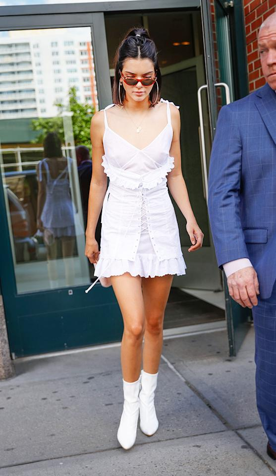 "<h2>In Opening Ceremony Dress And Stuart Weitzman Shoes</h2>                                                                                                                                                                             <p><p>In New York City, June 2017</p>                                                                                                                                                                               <h4>Getty Images</h4>                                                                                                                 <p>     <strong>Related Articles</strong>     <ul>         <li><a rel=""nofollow"" href=""http://thezoereport.com/fashion/style-tips/box-of-style-ways-to-wear-cape-trend/?utm_source=yahoo&utm_medium=syndication"">The Key Styling Piece Your Wardrobe Needs</a></li><li><a rel=""nofollow"" href=""http://thezoereport.com/living/entertaining/rachel-zoe-banana-bread-recipe/?utm_source=yahoo&utm_medium=syndication"">Rachel Zoe's Majorly Addictive Banana Bread Recipe</a></li><li><a rel=""nofollow"" href=""http://thezoereport.com/beauty/hair/expensive-wedding-hair-stylist/?utm_source=yahoo&utm_medium=syndication"">The Wedding Hairstylist Worth Your Rainy Day Fund</a></li>    </ul> </p>"