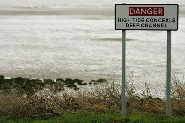 Girl rescued from quicksand on the Solway Firth