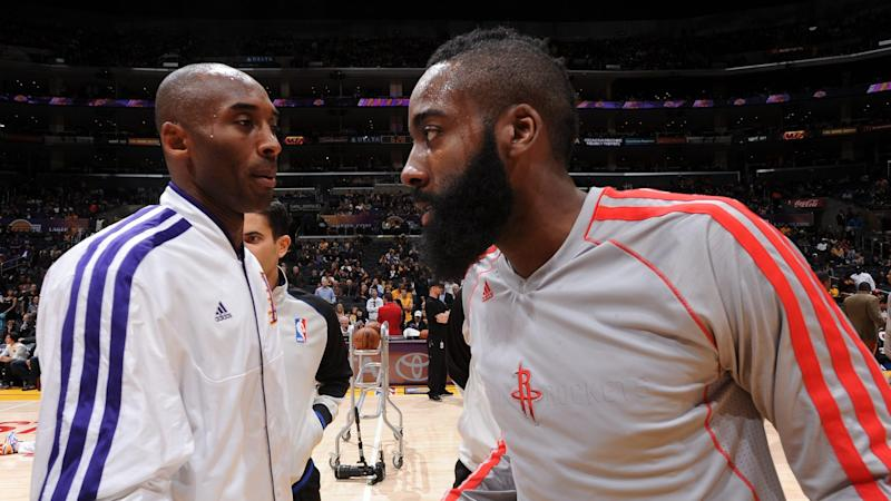 James Harden is fine with Kobe Bryant's 'ball dominant' comment
